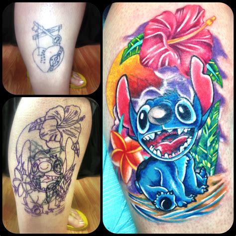 stitch cover up tattoo from disney movie lilo and stitch