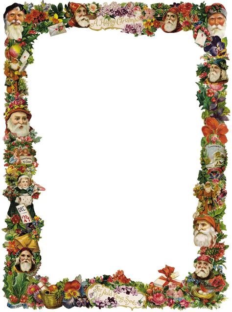 victorian christmas borders clipart clipart kid tags