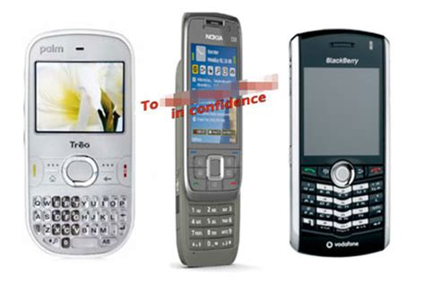 Hp Bb Vodafone vodafone 2008 lineup leaked in entirety palm wanda nokia blackberry quot 9000 quot more wired