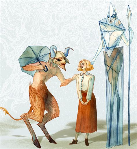 Characters From Narnia The The Witch And The Wardrobe by Schoolwork Serena S Illustration