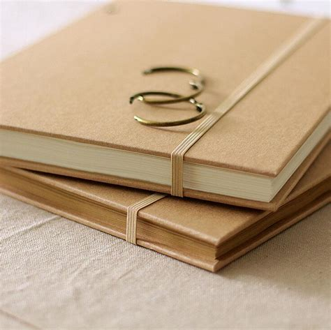 caderno sketch book a4 vintage kraft fashion a4 band coil notebook diy thick