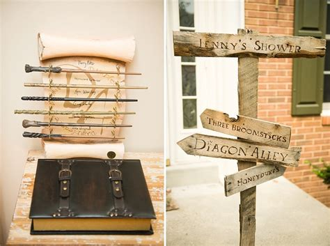 harry potter decorations the ultimate harry potter bridal shower details