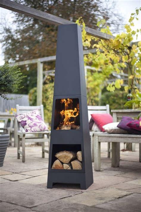 mexican outdoor fireplace la hacienda 56017us steel malmo chimenea black contemporary chimineas by