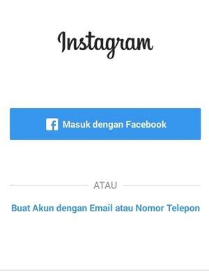 buat akun instagram windows phone cara daftar buat akun instagram di hp android iphone