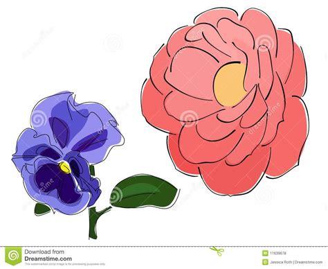 imagenes de flores libres vectores de flores abstractas fotos de archivo libres de