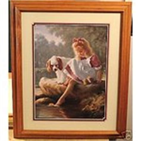 discontinued home interiors pictures retired home retired homco home interior girl dog puppy picture 11 14