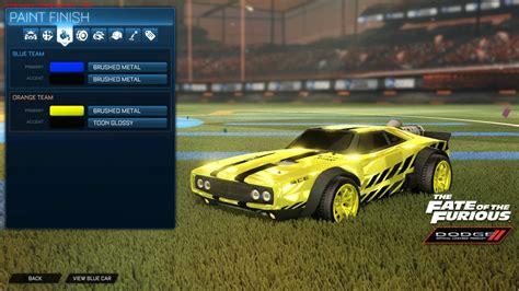 charger dlc wheels painted 10 colors rocket league mods