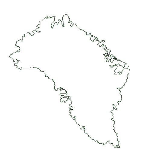greenland map coloring page map of greenland terrain area and outline maps of