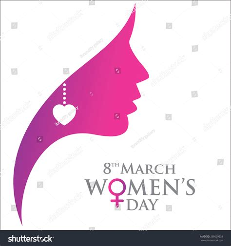 women of web design on earth web site digital designer happy womens day women face greeting stock vector
