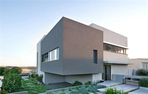 home design center israel modern concrete home with spacious interiors in israel