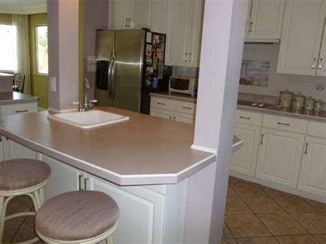Mauve Kitchen Walls by Former Kitchen Note The Mauve And Grey Paint Countertops