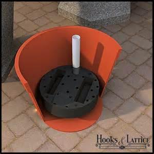 planter large pot reservoirs hooks lattice