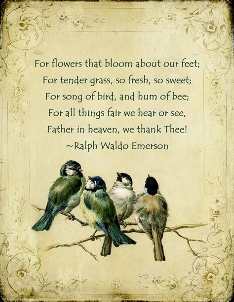 printable ralph waldo emerson quotes flower poems and quotes quotesgram