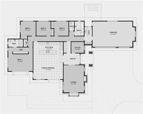 beautiful popular 5 bedroom house floor plans for