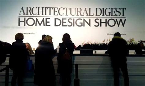 architectural digest home design show in new york city architectural digest home design show 2015 it s almost here