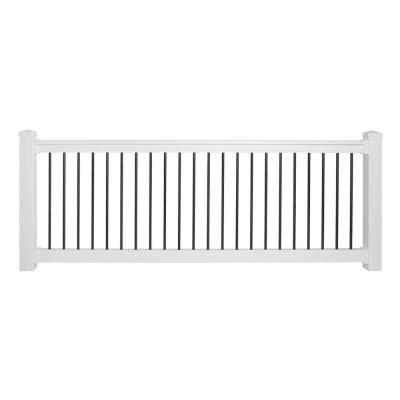 weatherables bellaire 36 in x 96 in vinyl white with