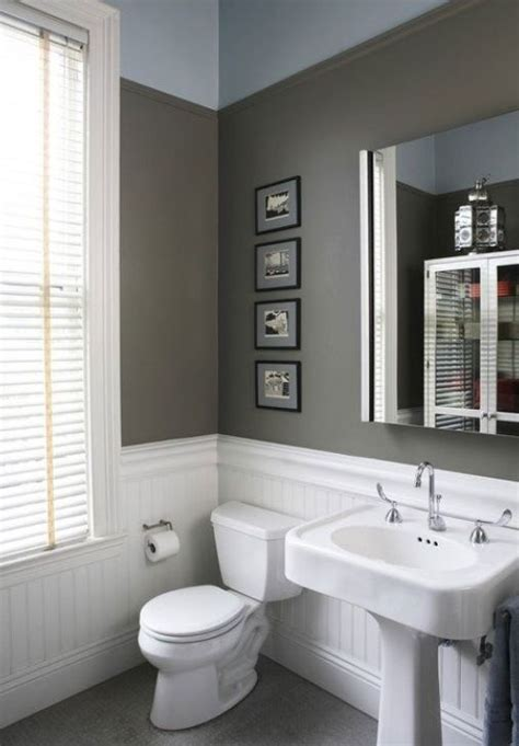 Wainscoting Bathroom Ideas Wainscoting Bathroom Bathroom Ideas Pinterest