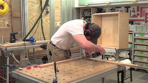 building face frame cabinets building kitchen cabinets part 20 making face frames for