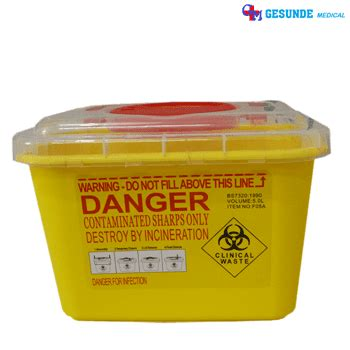 Safety Box Alkes box sah limbah jarum suntik bekas disposable bekas