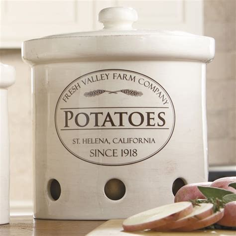 Country Kitchen Canister Set by Potato Onion Garlic Canisters Pottery Ideas Pinterest