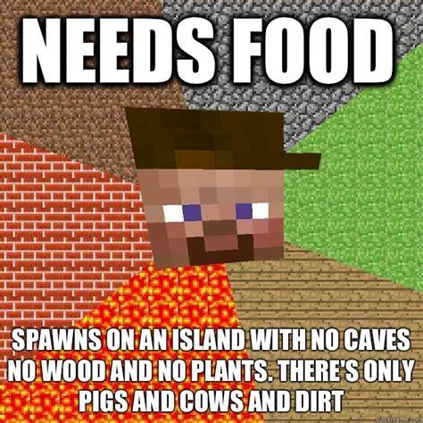 Minecraft Herobrine Memes - minecraft mutant herobrine