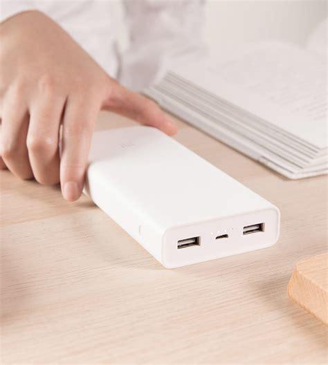 Xiaomi Mi Powerbank 16 000 Mah xiaomi mi power 2c powerbank launched with 20 000 mah capacity gizchina