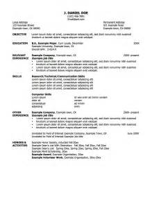 working resume template exles of resumes resume social work
