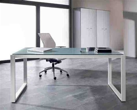 bureau table en verre bureau de direction verre of mobilier de bureau discount