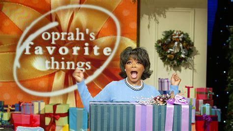 Oprah Favorite Things Giveaway - oprah s favorite things a history in 190 seconds video