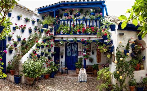 Los Patios Cordoba by Flowers Festival In Cordoba Capanes Luxury Living