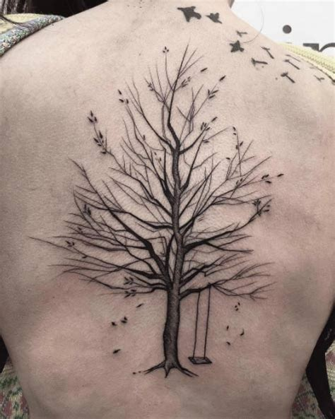 40 achingly beautiful tree tattoos tattooblend