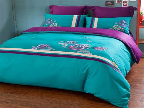turqoise bedding purple and turquoise comforter sets