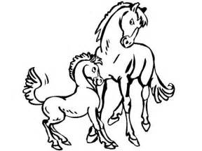 Her baby coloring pages free horse with jobspapa com