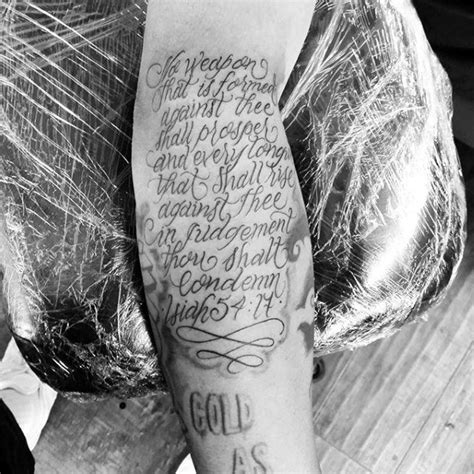 scripture tattoos on forearm 50 bible verse tattoos for scripture design ideas