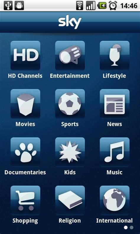 sky app android sky tv app hits android eurodroid