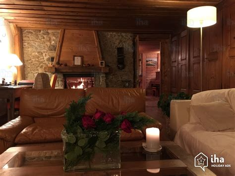 chalet con camino chalet in affitto a les gets iha 21978