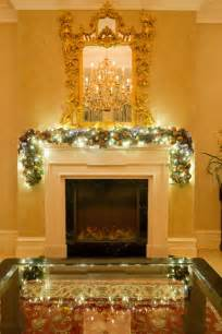 garlands with lights for fireplace cool blue fireplace garland