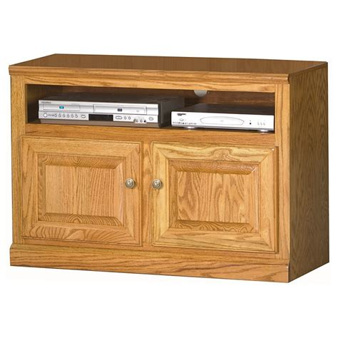 Oak Tv Cabinet With Doors Classic Oak 39 Quot Tv Cabinet 1 Shelf 2 Doors Dcg Stores