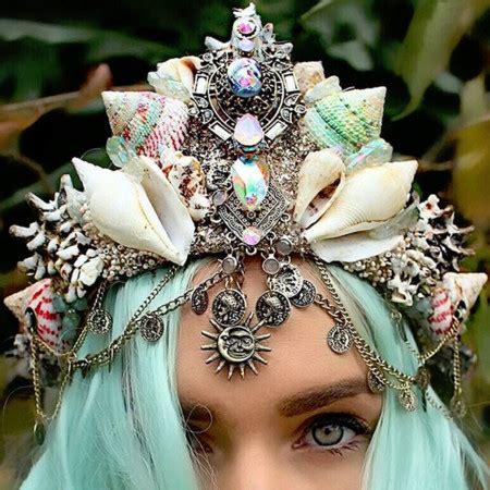 1000 Images About Mermaid Crowns Este Verano Tambi 233 N Puedes Convertirte En Sirena Por Un D 237 A Con Una De Estas Coronas