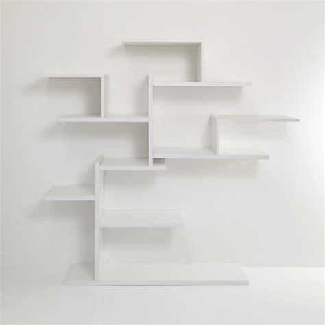 librerie da appendere libreria ad albero plane tree da parete in legno bianco
