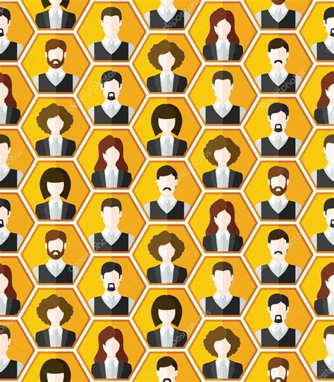 pattern html special characters de fond personnages avatar sans soudure image