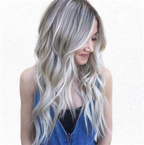 farbe za kosu za ombre apsoulutni hit koji još uvijek traje sive i srebrene