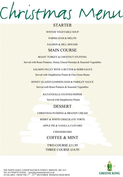 christmas menus bristol christmas party venue