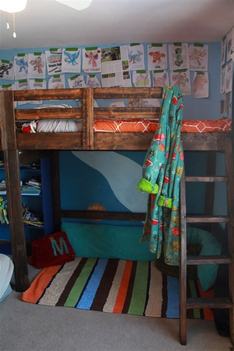 L For Boys Room by Boys Room Decor And L Shaped Loft Bed Timandmeg Net