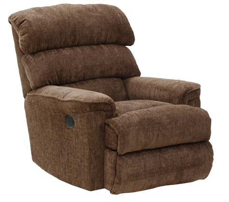 wall hugger rocker recliner catnapper pearson power wall hugger recliner mocha 64739