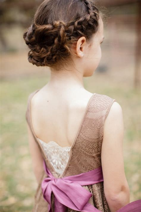hairstyles for girl in wedding 50 cute little girl hairstyles with pictures beautified