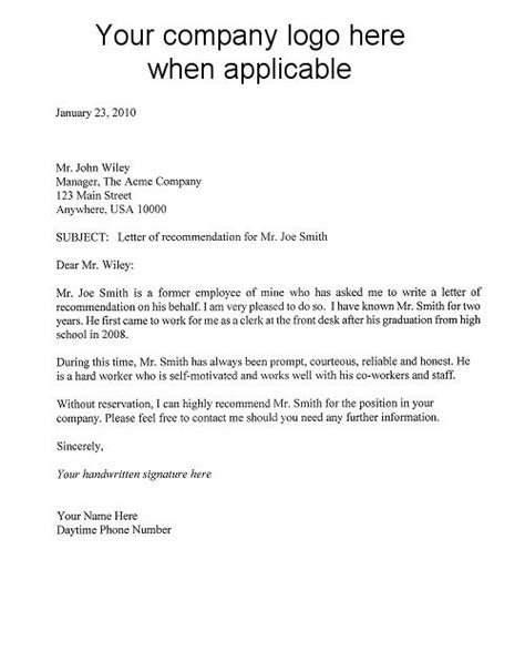 9 Best Images About Letter Of Recommendation On Pinterest Resume Template For Letter Of Recommendation