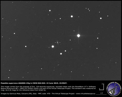 by boitumelo mmakou june 15 2015 by boitumelo mmakou june 15 2015 supernova asassn 15lg in