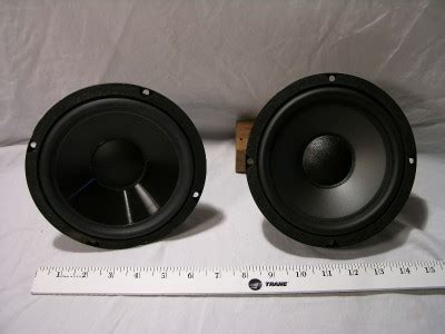 Speaker Subwoofer Nitrous new nos bic speakers replacement woofer 310103 dv62si ebay
