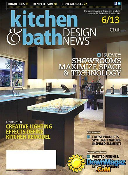 Kitchen Design Magazine Kitchen Bath Design News June 2013 187 Pdf Magazines Magazines Commumity